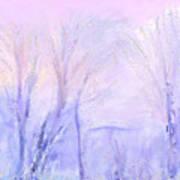 Northern California Pastel Sunset Poster