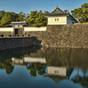 Northern Gate Of Edo Castle Poster