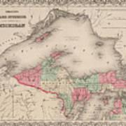 Northern Michigan And Lake Superior Poster
