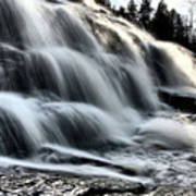 Northern Michigan Up Waterfalls Bond Falls Poster