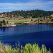 Northern New Mexico Lake Poster