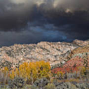 Northern Uintas Autumn Poster