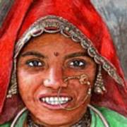 Northindian Woman Poster