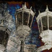 Nostalgic Lanterns Poster