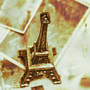 Nostalgic Mementos Of A Paris Trip Poster