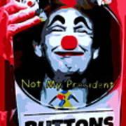 Not My President Poster