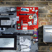 Notice Board For Scrap Poster