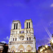 Notre Dame Cathedral Paris Poster