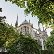 Notre Dame Cathedral - Paris, France Poster