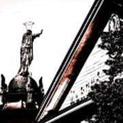 Notre Dame De Bon Secours-vieux Port Poster