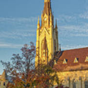 Notre Dame University Basilica Of The Sacred Heart Poster