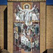 Notre Dame's Touchdown Jesus Poster