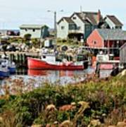 Nova Scotia Fishing Community Poster
