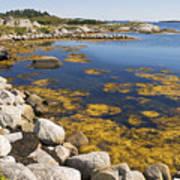 Nova Scotia Seascape Poster