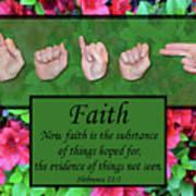 Now Faith Poster