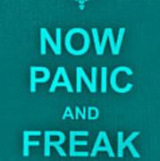 Now Panic 12 Poster