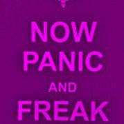 Now Panic 14 Poster