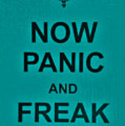 Now Panic 26 Poster