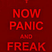 Now Panic 9 Poster