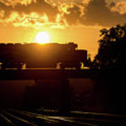 Ns Local At Sunset Poster