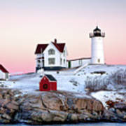 Nubble Glow Poster by Susan Cole Kelly