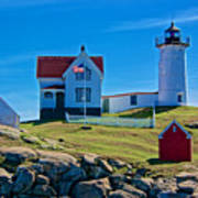 Nubble Lighthouse, Maine I Poster