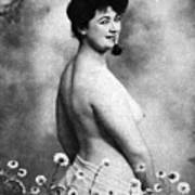 Nude And Flowers, 1903 Poster