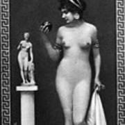 Nude As Aphrodite, C1900 Poster