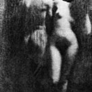 Nude Couple, 1910 Poster