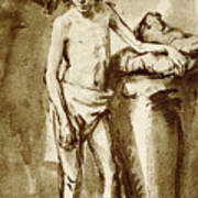 Nude Drawing For A Youth Poster