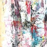 Nude In Abstract Poster