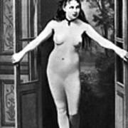 Nude In Doorway, C1865 Poster