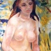 Nude In Sunlight Renoir Reproduction Poster