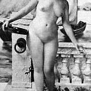 Nude In Venice, 1902 Poster