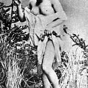 Nude In Wilderness Poster