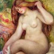 Nude Poster by Renoir