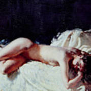 Nude Study Poster by Sir William Orpen