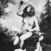 Nude With Birds, 1897 Poster