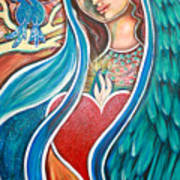 Nuestra Senora Maestosa Poster by Shiloh Sophia McCloud