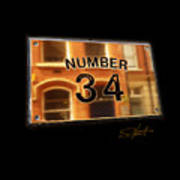 Number 34 Poster