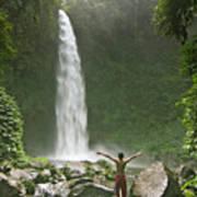 Nungnung Waterfall Poster