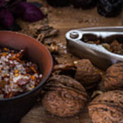 Nuts And Spices Series - Five Of Six Poster