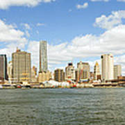 Ny East River Poster