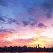 Ny Skyline Dawn Delight Poster