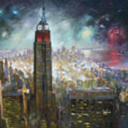 Nyc. Empire State Building Poster