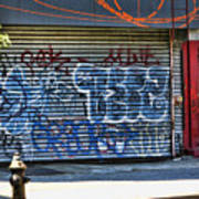 Nyc Graffiti Poster