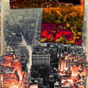 Nyc Papercut No.2 Poster