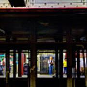 Nyc Subway Platform 283 Poster