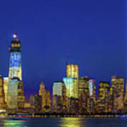 Nyc Tribute Of Lights 2012 Poster