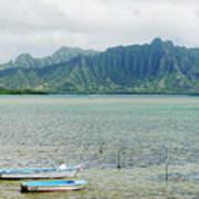 Oahu, Kaneohe Bay Poster